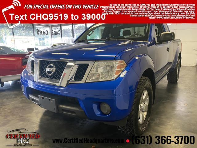 2012 Nissan Frontier 4WD King Cab Auto SV
