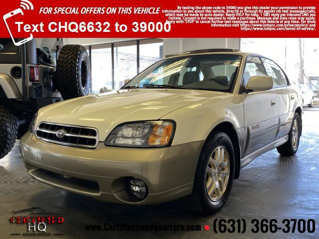 2002 Subaru Legacy Sedan 4dr Outback Ltd Auto