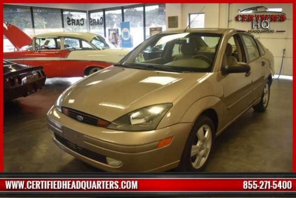 2003 FORD FOCUS 4dr Sdn ZTS