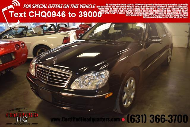 2005 Mercedes-Benz S-Class S430 4MATIC Sedan