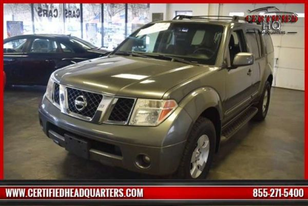 2007 NISSAN PATHFINDER trim
