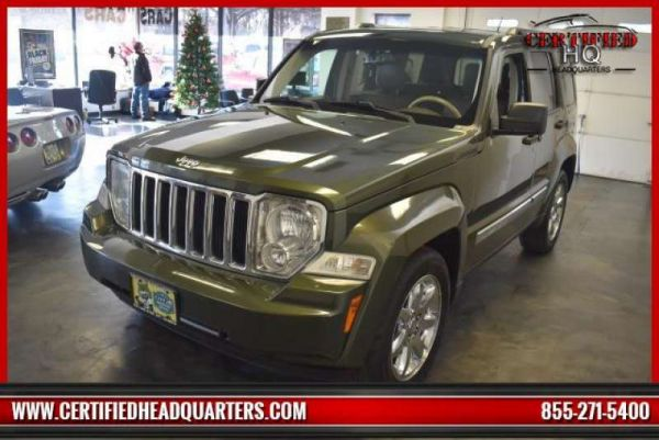 2008 JEEP LIBERTY 4WD 4dr Limited