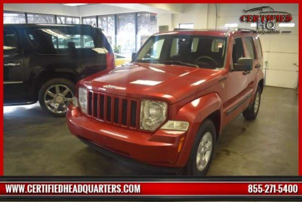 2009 JEEP LIBERTY 4WD 4dr Sport
