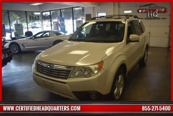 2009 SUBARU FORESTER 4dr Auto X Limited PZEV