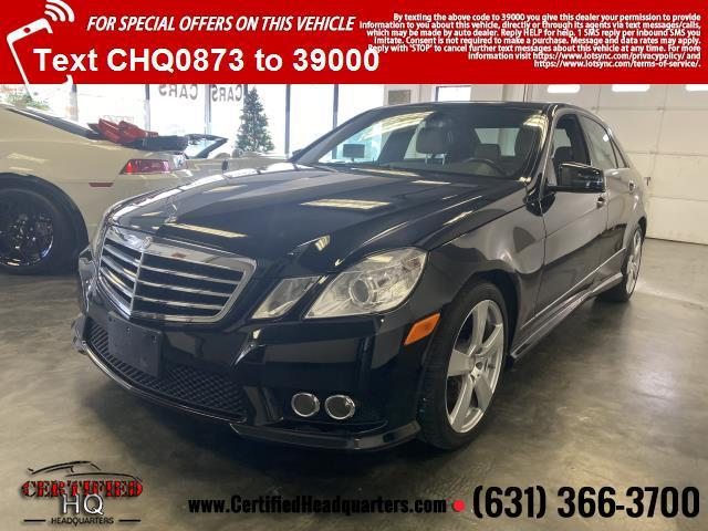 2010 Mercedes-Benz E-Class E350 4MATIC Luxury Sedan