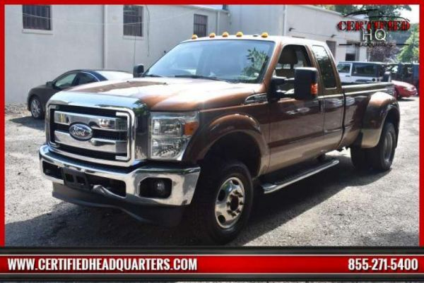 2011 FORD SUPER DUTY F-350 DRW 4WD SuperCab 158