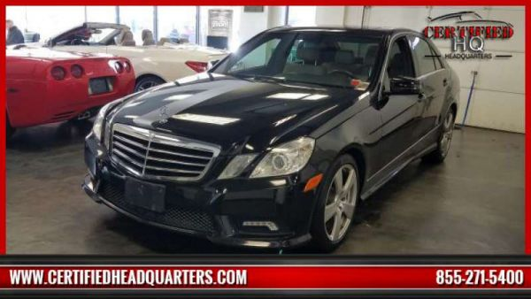 2011 MERCEDES-BENZ E-CLASS E350 4MATIC Sport Sedan