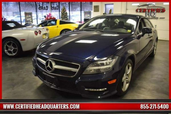 2012 MERCEDES-BENZ CLS-CLASS CLS550 4MATIC Coupe
