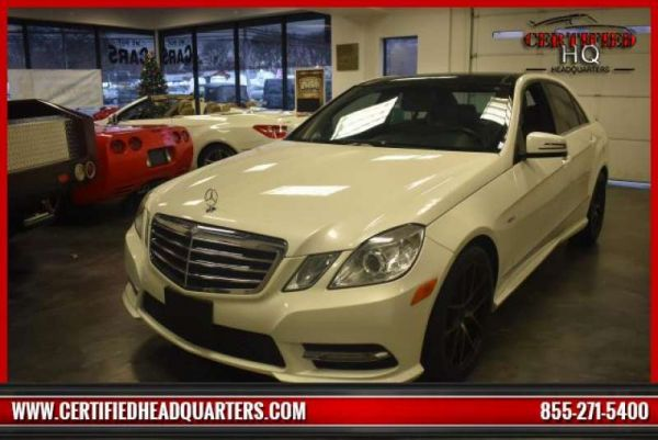 2012 MERCEDES-BENZ E-CLASS E350 4MATIC Luxury Sedan