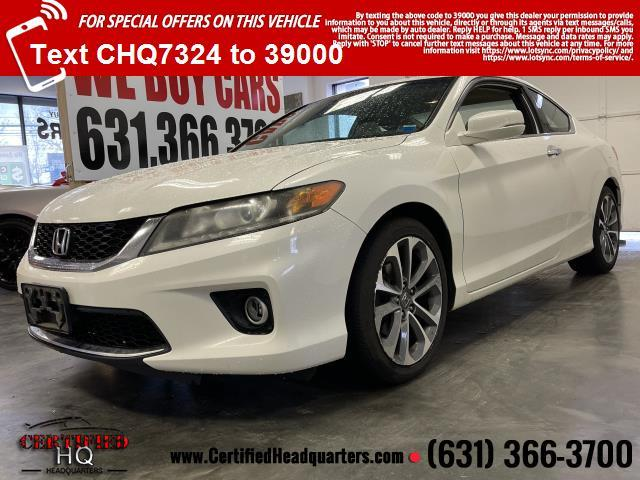 2013 Honda Accord Coupe 2dr V6 Auto EX-L