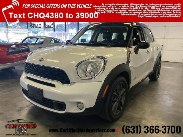 2013 MINI Cooper Countryman AWD 4dr S ALL4