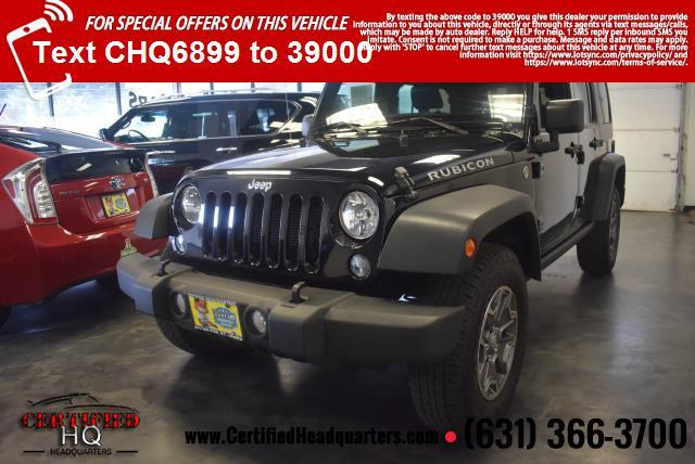 2014 Jeep Wrangler Unlimited 4WD 4dr Rubicon