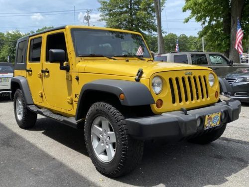 2008 Jeep Wrangler at Certified Headquarters